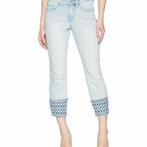 NYDJ Women's Sheri Slim Ankle Jean Size 8